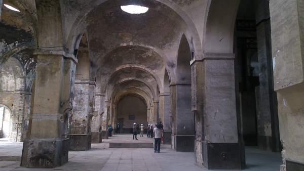 Interior de la Fábrica de Artillería