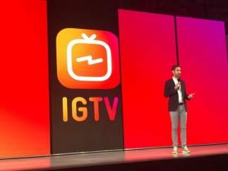 La app de Instagram IGTV