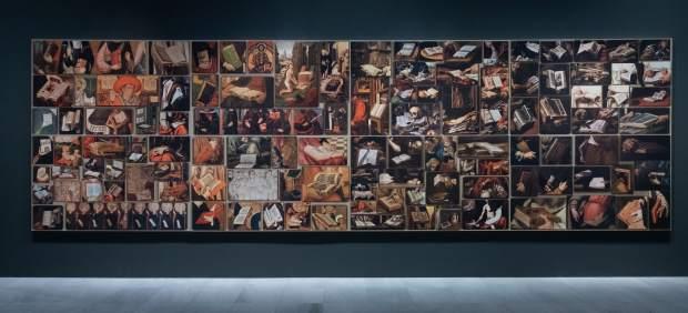 Vista panorámica de la obra 'Dato primitivo 5-38 (2016)' de Montserrat Soto