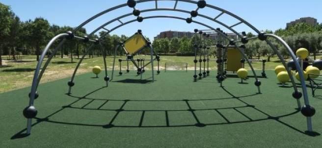 Parque de parkour en Madrid