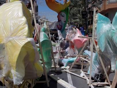Detenido por intentar llevarse a una niña de 10 años en las fiestas de Alicante