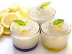 Trucos para que la receta de sorbete de limón quede perfecta