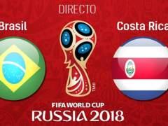 EN DIRECTO: Brasil - Costa Rica | Mundial de Rusia 2018