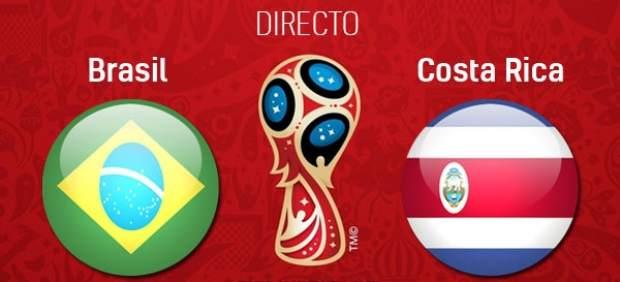 Brasil vs Costa Rica en directo: Mundial de Rusia 2018