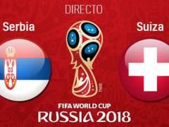 EN DIRECTO: Serbia - Suiza | Mundial de Rusia 2018: Mitrovic adelanta a Serbia a los cinco minutos