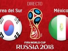 EN DIRECTO: Corea del Sur - México | Mundial de Rusia 2018: México domina a Corea con un gran Vela