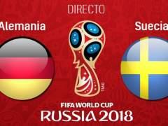 EN DIRECTO: Alemania - Suecia | Mundial de Rusia 2018: Alemania se la juega: si pierde, a casa