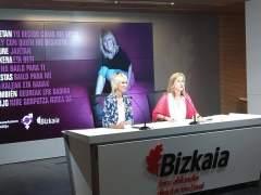Ana Urrutia y Teresa Laespada