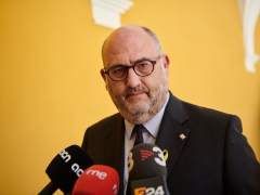 El portavoz adjunto de JxCat, Eduard Pujol.