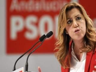 """Susana Díaz, sobre libertad de La Manada: """"Mi pensamiento hoy vuelve a estar con la víctima"""""""