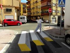 Paso de peatones 3D