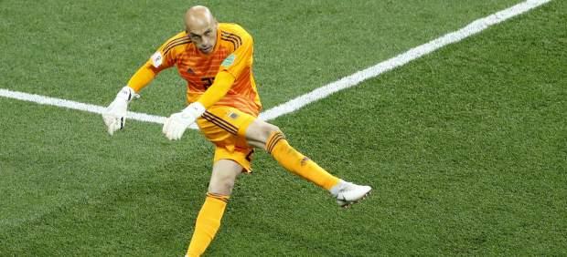 El increíble error de Caballero en el primer gol de Croacia a Argentina