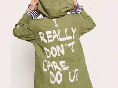 Chaqueta de Melania Trump