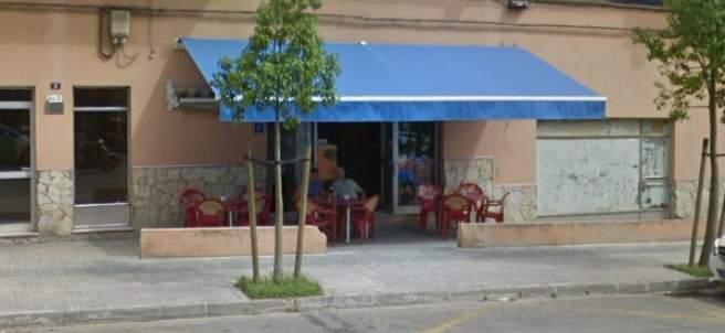 Bar cerrado en Palma