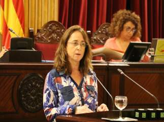 Olga Ballester interviene en el pleno