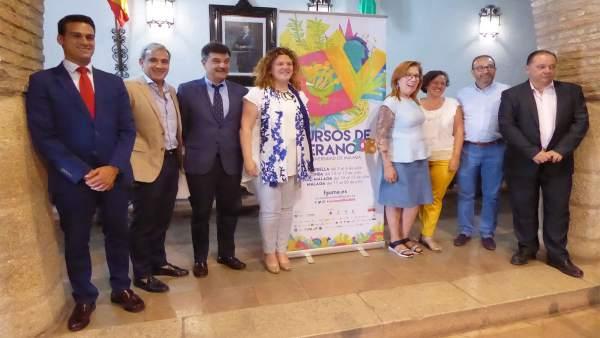 Presentacion de los cursos de verano de la UMA en Ronda