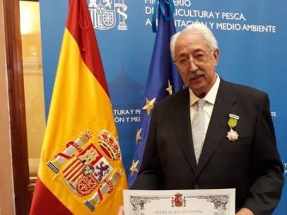 Francisco Lalanne, Medalla al Mérito Agrario.