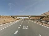 Carretera de Mairena hacia A-92.