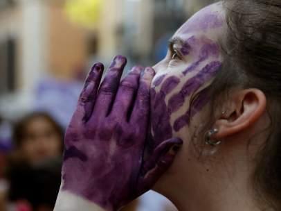 Manifestación contra La Manada en Madrid