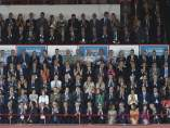 El Rey, Pedro Sánchez y Quim Torra en los Juegos del Mediterráneo