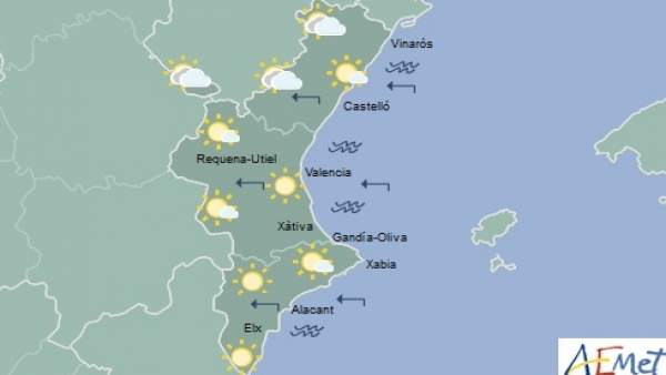 Sol en la mayoría de la región para este sábado, 23 de junio