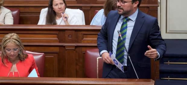 El presidente del Partido Popular de Canarias, Asier Antona