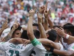 Emotiva dedicatoria de Carlos Vela a su abuelo tras marcar el 1-0 a Corea del Sur
