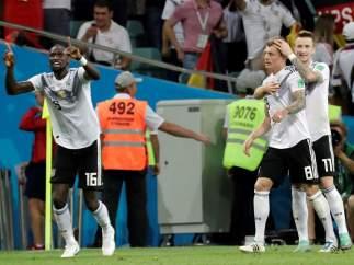 Gol de Toni Kroos
