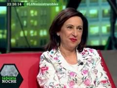 La ministra Margarita Robles no comparte los argumentos jurídicos del auto de libertad de La Manada