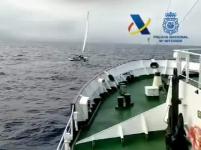 Operación contra el narcotráfico en Canarias