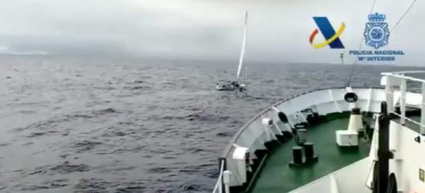 Incautan cocaína a bordo de un velero en Canarias por valor de 65 millones