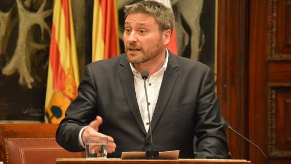 El consejero de Vertebración del Territorio, José Luis Soro.