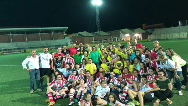 Final de la XII Copa Delegada del Gobierno de fútbol femenino.
