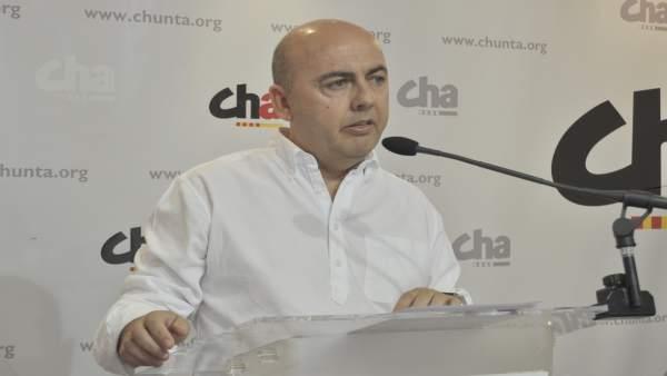 El secretario de Organización de CHA, Miguel Jaime.