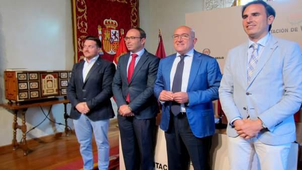 Carnero y su equipo, en el balance de tres años de gestió