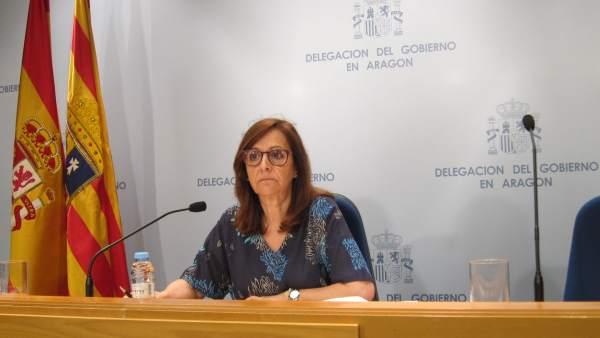Delegada del Gobierno de España en Aragón, Carmen Sánchez