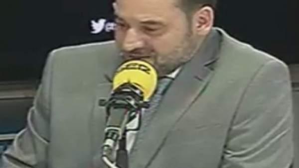 José Luis Ábalos en la entrevista este lunes en la SER