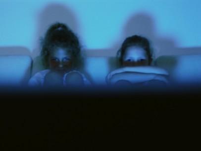 Niños ante la televisión