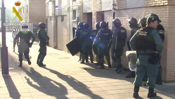 Guardia Civil detiene a un hombre por agredir a un Sargento