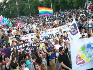 Manifestación del Orgullo en Madrid