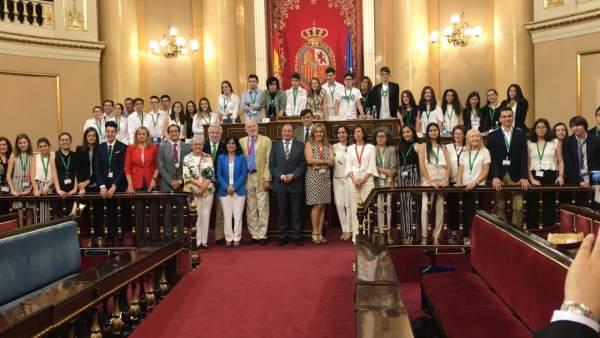 Participantes en el certamen