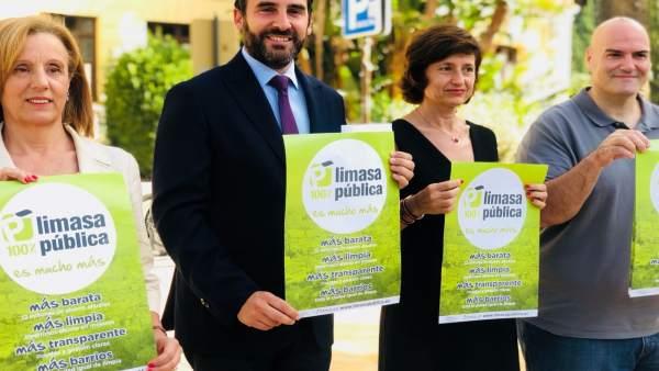 Daniel Perez y Begoña Medina (PSOE) sobre Limasa