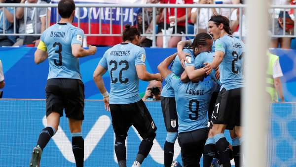 Gol de Uruguay