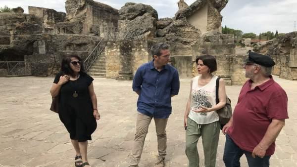 Visita a Itálica