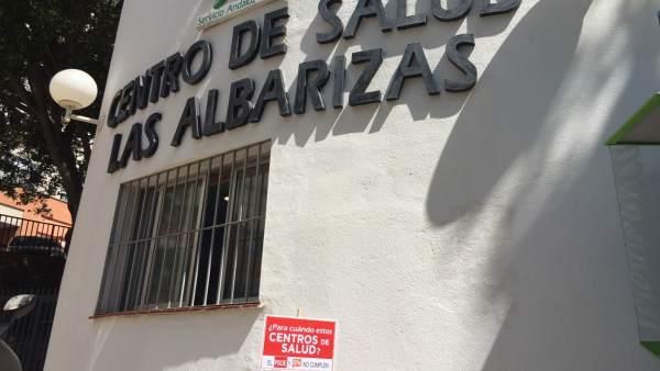 Centro de salud Las albarizas Marbella sanidad estacazo campaña PP