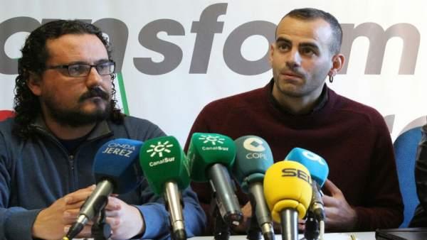 El diputado de Unidos Podemos, Miguel Ángel Bustamante