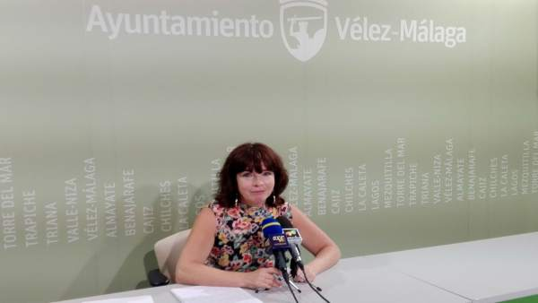 La edil de Empresa de Vélez
