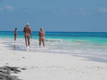 playa nudista bilbao
