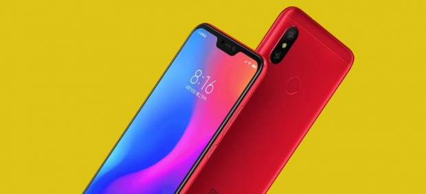Xiaomi Redmi 6 Pro.