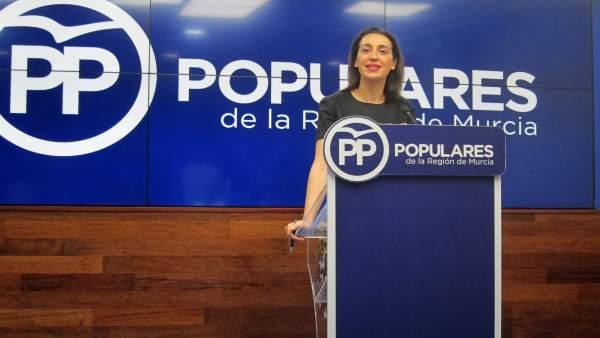 Portavoz PPRM, Nuria Fuentes